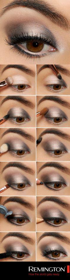Si tienes plan con tus amigas y quieres lucir un maquillaje inolvidable un smokey eye es la mejor opción. ¡Sigue este paso a paso y luce espectacular! #makeup #tips #DIY #style #cool #beauty