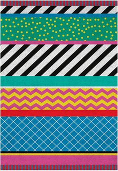 Season of Victory - Colourful rug collection | Pitter Pattern