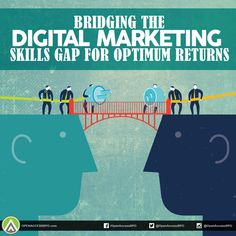 Most of us online marketers are sometimes overwhelmed with the need to cope to rapid changes in the tech sphere. As a result, the #DigitalMarketing skills gap among many marketers is becoming a big force hampering business growth.