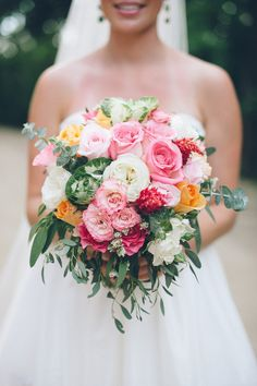 #Bouquet | See the wedding on #SMP Weddings: http://www.stylemepretty.com/2013/04/17/mexico-destination-wedding-from-jillian-mitchell/ Photography: Jillian Mitchell