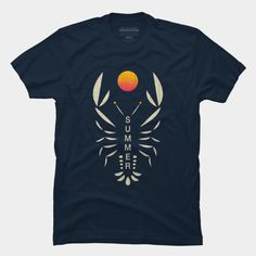 Vintage Crabby Summer Sunset Tees and T-shirt!