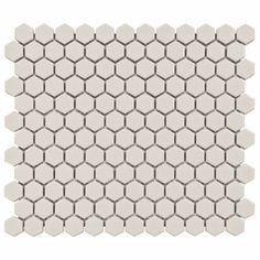 white hex tile $3 sq ft