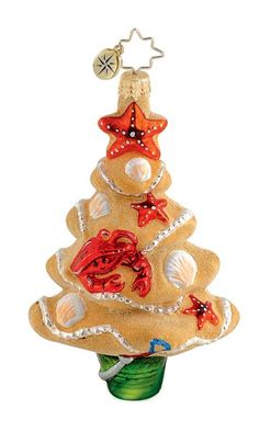 Image detail for -Christopher Radko Christmas Ornament - Day at the Beach
