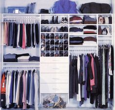 Closet design solutions customized to fit the way you live and match your needs and decor. Our systems are built in our own factories so even the most difficult of closet designs can be easily created. www.closetandstorageconcepts.com