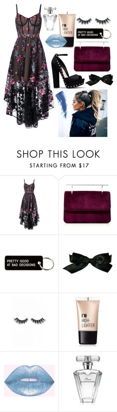"""""""Dancing In The Moonlight"""" by flower-xox ❤ liked on Polyvore featuring Notte by Marchesa, Fleur du Mal, Various Projects, Chanel, Violet Voss, Charlotte Russe, Avon and Eyeko"""