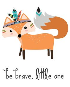 Be Brave Wall Art Be
