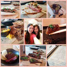 Date night with the sis   #sisters #yummy #qshiq #olympicvillage #foodporn #japanese #skewers #all #meat #protein #datenight #tataki #ribeye #unagi #seefood #diet #foodie #vancouver #matchalatte #tiramisu by jpeng0105