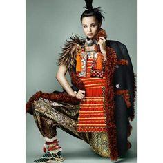 European Fashion Shows | Миранда Керр в новой яркой фотосессии