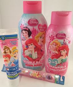 Disney Princess Beauty Kit Royal Berry Bubble Bath Shampoo Conditioner Crest Kids Bubble Gum Toothpaste a Disney Princess Toothbrush ** Check out the image by visiting the link. (This is an affiliate link) Princess Beauty, Princess Gifts, Disney Princess, Little Girl Makeup Kit, Little Girl Shoes, Baby Girl Toys, Toys For Girls, Bubble Bath, Bubble Gum