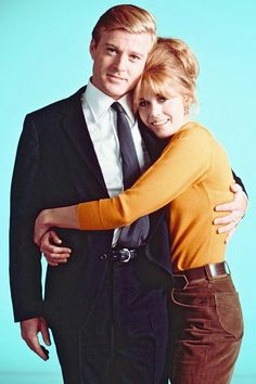 Jane Fonda and Robert Redford