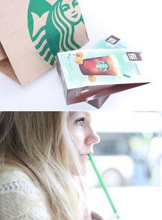 Starbucks ice coffe <3