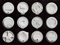 The world largest coffee cup lids collection