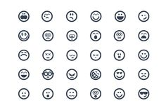I just released Smile icons on Creative Market.
