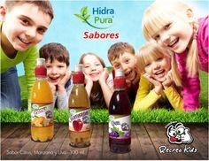 Hidra Pura Sabores para los chiquitines
