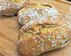 Einfach herrlich...  Frisch gebackene, knuspr ige Brötchen am Morgen :)                  Ihr benötigt für 8 Brötchen :   ♡ 180 g Mehl ...