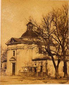Hacia 1860. Ermita de San Antonio de la Florida. Laurent. Museo de Historia.