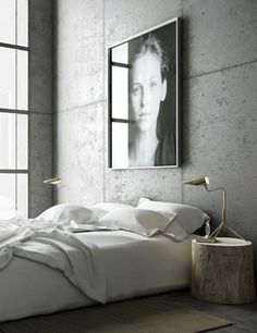 Whether you just moved into your new home or want to give a makeover to your old bedroom, need ideas to make your bedroom design stand out. So you want a modern bedroom but do not know where to sta… Home Bedroom, Modern Bedroom, Bedroom Decor, Bedroom Simple, Bedroom Ideas, Grey Bedrooms, Bedroom Lamps, Bedroom Lighting, Bedroom Wall