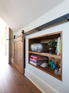 30 wall storage cabinet with a sliding door - Shelterness