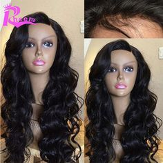 7A Cheap Glueless Lace Front Human Hair Wigs Body Wave Brazilian Full Lace Human Hair Wigs For Black Women With Baby Hair