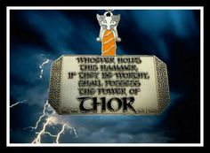 Thor's Run Virtual Race!  $23.50 This Supersized finisher medal is part of our Superhero Series!