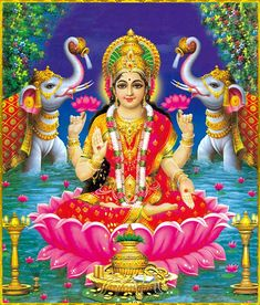 Some Jain temples also depict Sri Lakshmi as a goddess of artha (wealth) and kama (pleasure) Lakshmi hindu art Lakshmi wealth Lakshmi goddesses Lakshmi haram Lakshmi tanjore painting Lakshmi vaddanam Lakshmi bangle Lakshmi decoration Lakshmi necklace Durga Images, Lakshmi Images, Saraswati Goddess, Shiva Shakti, Indian Goddess, Goddess Art, Indian Wedding Couple Photography, Hindu Dharma, Lord Vishnu Wallpapers