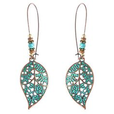 Vintage Bohemian Hollow Leaf Drop Earrings Gift for Her Women Jewelry I love those fashionable and beautiful Earrings from Newchic.com. Find the most suitable and comfortable Earrings at incredibly low prices here.