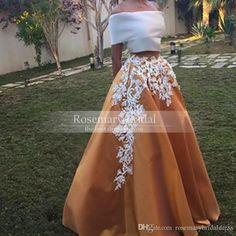 2015 Elegant Two Piece Lace Evening Dresses A Line Applique Off the Shoulder Arabic Dresses Applique Prom Dresses Party Gowns Party Gowns, Prom Party Dresses, Occasion Dresses, Homecoming Dresses, Dress Prom, Pageant Gowns, Quinceanera Dresses, Lace Prom Gown, Dress Hire