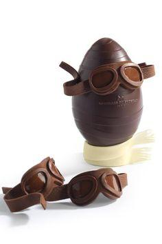 Pâques 2015 - Maison du chocolat oeuf aviateur