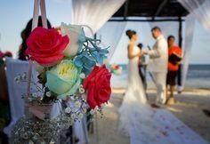 Lina & Timothy's destination wedding in Mexico -  Mexico destination wedding, beach wedding @destweds