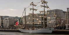 Cuauhtémoc Tall Ship From Mexico []-105757 [The Streets Of Ireland]