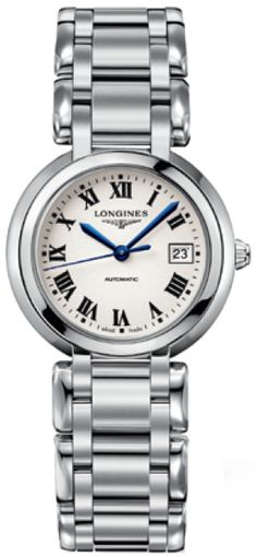 L8.113.4.71.6 NEW LONGINES PRIMALUNA LADIES WATCH  Usually ships within 8 weeks  - FREE Overnight Shipping- NO SALES TAX (Outside California)- WITH MANUFACTURER SERIAL NUMBERS- Silver Dial   - Self Winding Automatic Movement- 3 Year Warranty- Guaranteed Authentic- Certificate of Authenticity- Polished Steel Case