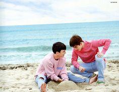 Chen & Suho <3 EXO Dear Happiness photobook 2016 <3
