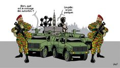 État d'alerte terroriste maximale maintenu à Bruxelles
