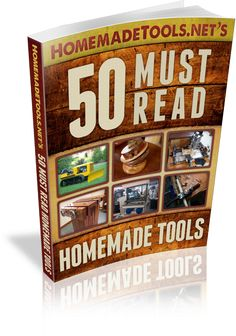 "Thanks for following us! Here's a free gift for our Pinterest followers: our ""50 Must Read Homemade Tools"" eBook. Enjoy!"