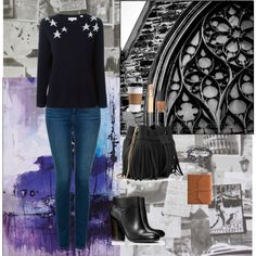 How To Wear Light Stars In Dark Night Outfit Idea 2017 - Fashion Trends Ready To Wear For Plus Size, Curvy Women Over 20, 30, 40, 50