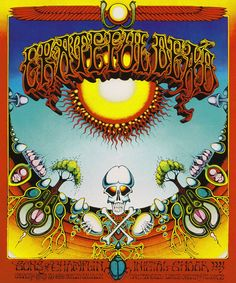 PSYCHEDELIC ROCK POSTERS FROM SAN FRANCISCO