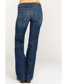 Ariat Women's Kelsea Trouser Stretch Wide Leg Jeans | Boot Barn Trouser Jeans, Trousers, Pants, Western Outfits Women, Stylish Jeans, Fringe Leather Jacket, Work Jeans, Flare Jeans, Bell Bottoms