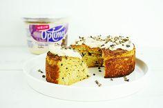 een glutenvrije taart met koffie smaak waar je maar een paar ingrediënten voor nodig hebt!