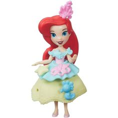 Disney Princess Little Kingdom Fashion Change Ariel - Walmart.com