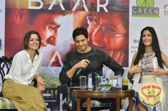 Bollywood actors Sidharth Malhotra and Katrina Kaif, along with the director Nitya Mehra was in the city for the promotion of the film, Baar Baar Dekho.