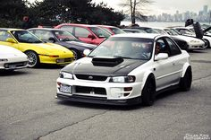 27 best subaru rs images rolling carts jdm cars nissan skyline rh pinterest com