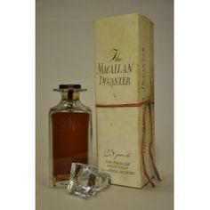 Macallan 25 years 1964 Old Decanter Tudor Crystal - Macallan antigüo - Smartbites