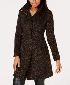 2f82adb5e4 Via Spiga Leopard-Print Coat Leopard Print Coat