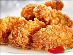 Куриные крылышки, типа KFC (домашний рецепт)