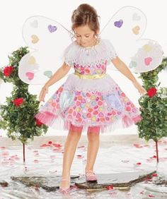 Candy Heart Fairy Costume for Girls