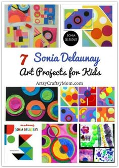 7 Gorgeous Sonia Delaunay Art Projects for Kids