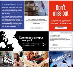 A quick snapshot of the tesco-graduates.com website, live today.