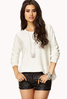 Everyday Slouchy Knit Top | FOREVER21 - 2058425740