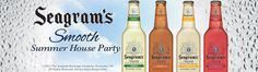 Seagram's® Smooth Summer House Party I wqant to host pick me I love Smoooth......