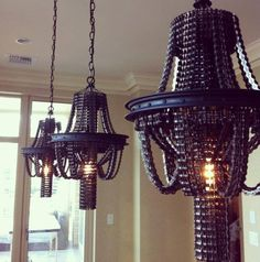 Old Bicycle Parts Turned Into Chandelier